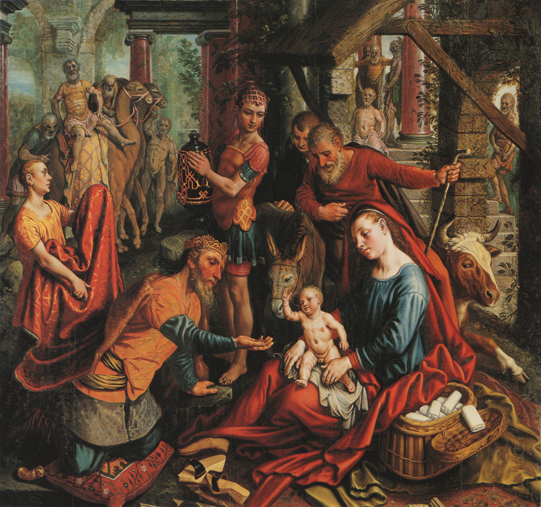 Adoration of the Magi by Pieter Aertsen 1507-08
