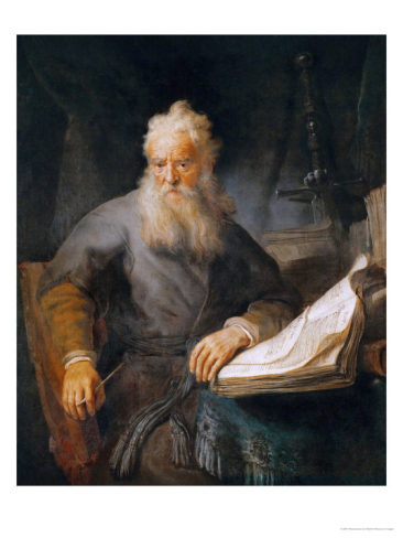 The Apostle by Rembrandt van Rijn 1633