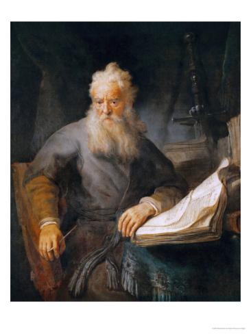 The Apostle by Rembrandt van Rijn 1633