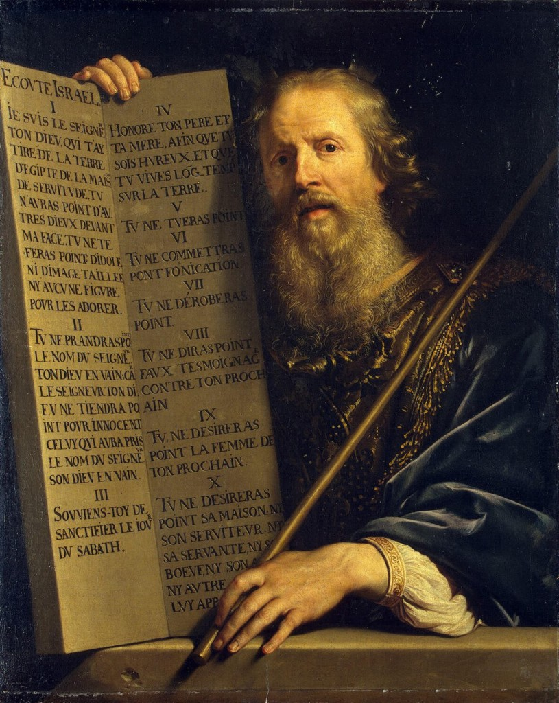 Moses and The Law by Philippe de Champaigne 1602