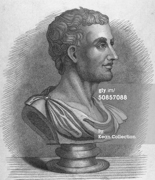 Roman Historian Livy by Stephen Gimber cir. 1830