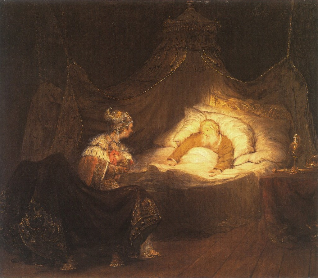 Bathsheba appeals to King David by Arent de Gelder cir. 1685-90