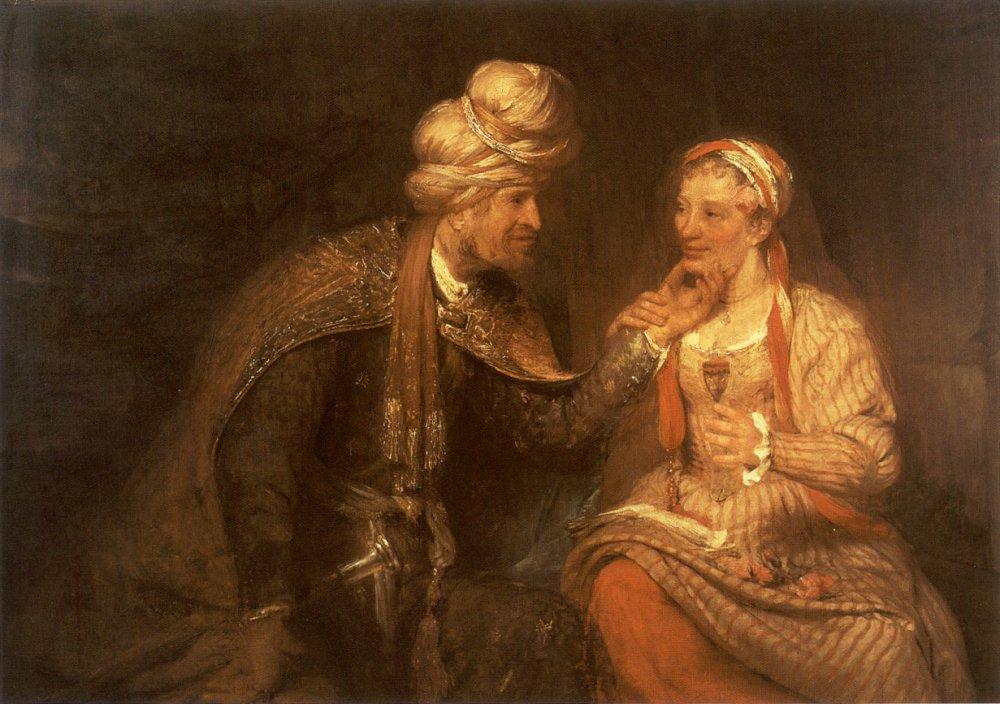 Judah and Tamar by Arent de Gelder Cir. 1681