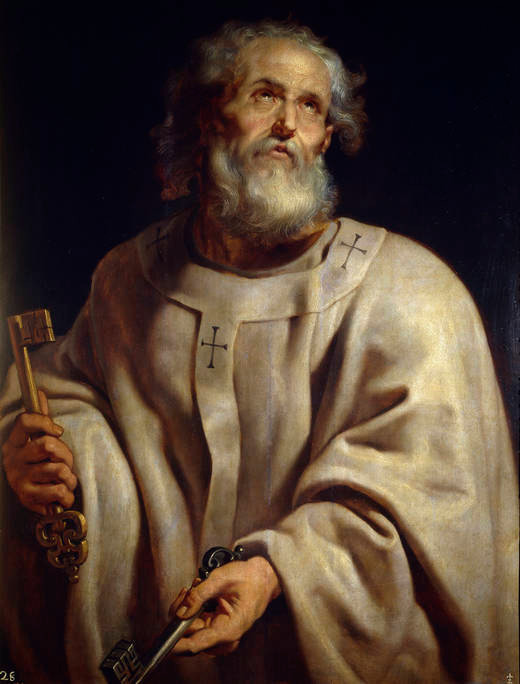 St. Peter by Peter Paul Rubens Cir 1611