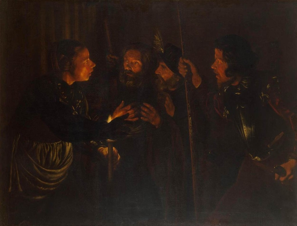 The Denial of Peter by Gerard Seghers cir. 1620