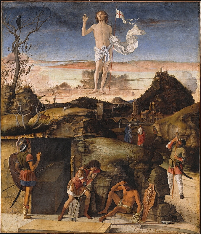 Resurrection by Giovanni Bellini cir 1475-79