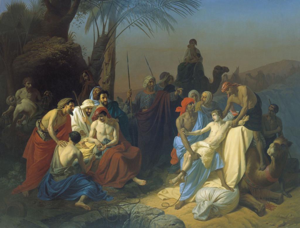 Reuben & Simeon by Joseph Konstanin Flavitsky Cir 1855