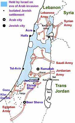 Map from Jewish Virtual Library http://www.jewishvirtuallibrary.org/jsource/History/Invade.html