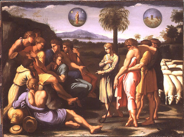 Joseph Reveals His Dreams to His Brothers by Giulio Romano - 1449-1546