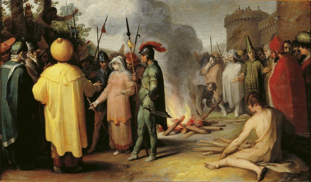 Judah and Tamar by Cornelis van Haarlem cir 1596